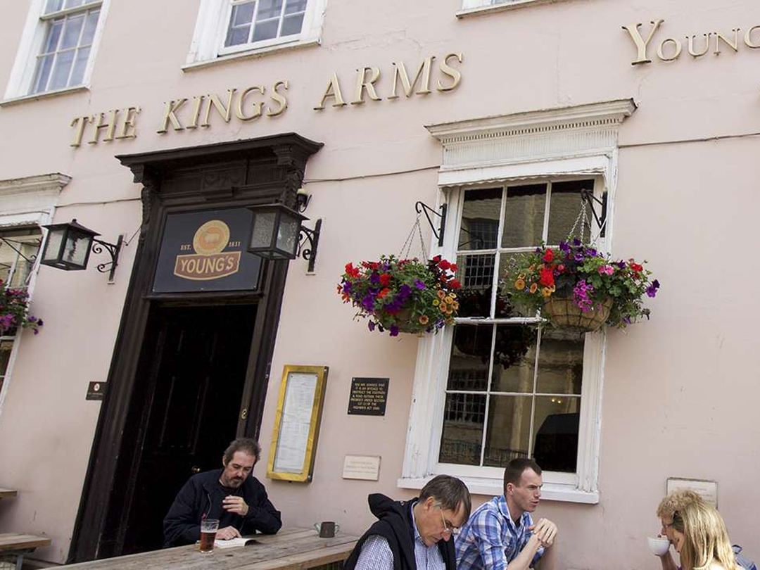 The Kings Arms Oxford Coffee Concerts